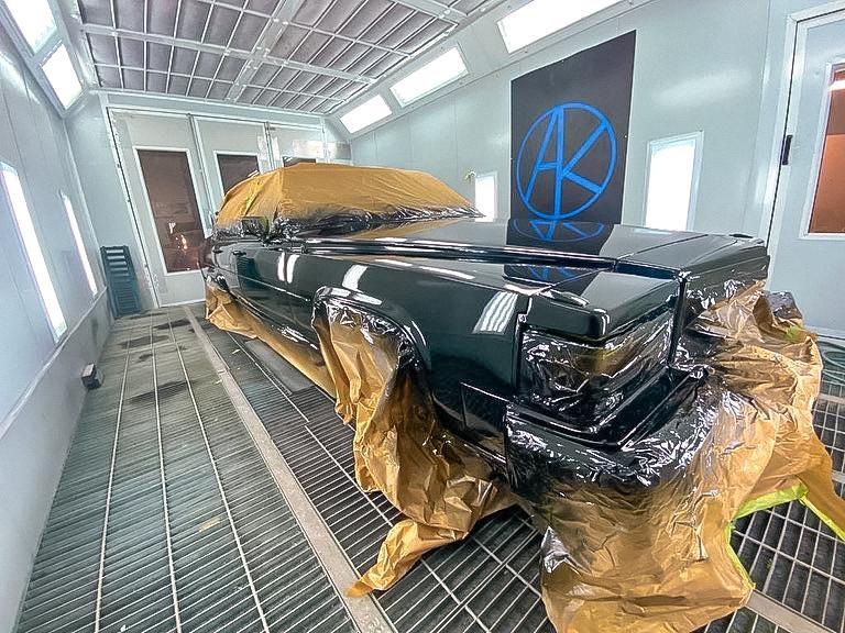Cadillac Fleetwood Oldtimer Komplettlackierung